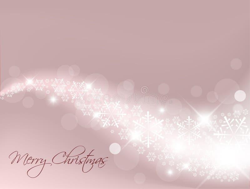 提取浅紫色背景的圣诞节 向量例证