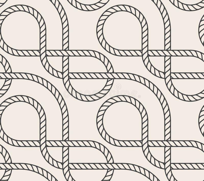 提取背景无缝的向量 线路模式 库存例证
