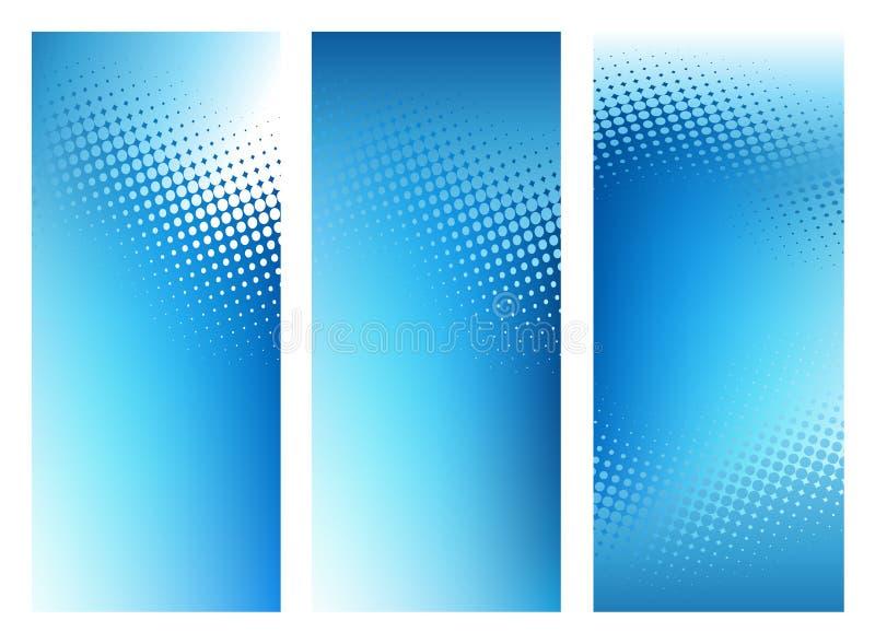 提取背景横幅蓝色图象集