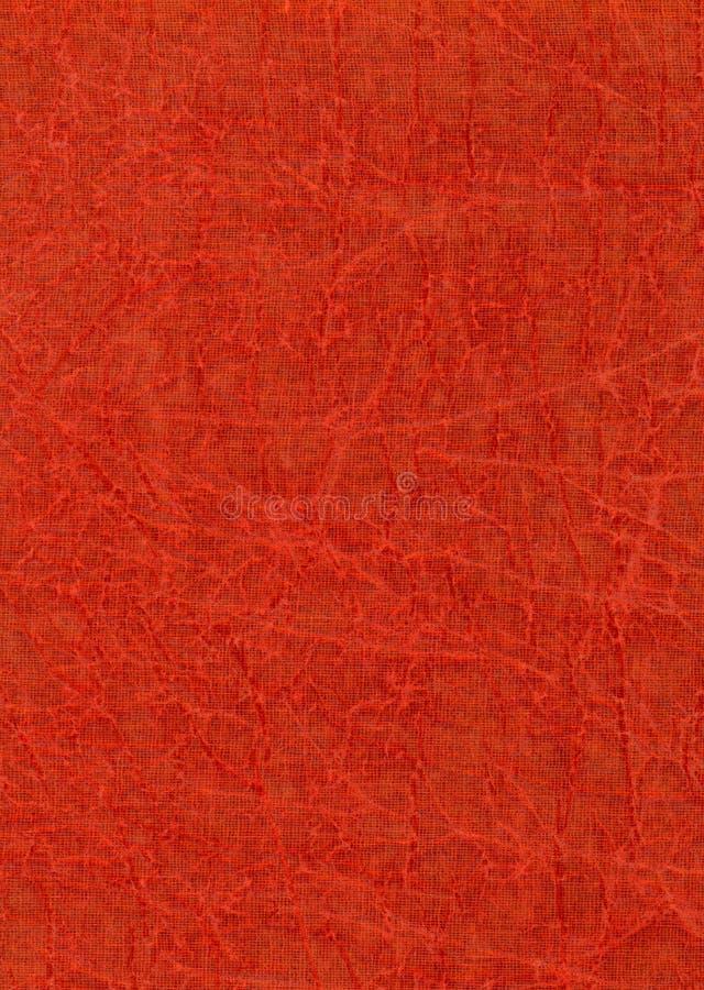 提取自然纸红色纹理 库存照片
