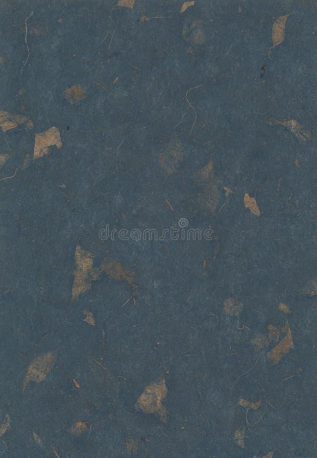 提取蓝色渐近的自然纸纹理墙纸 库存照片