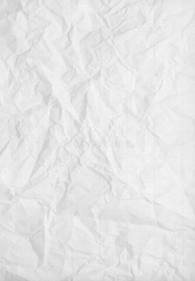 提取被弄皱的纸纹理 免版税图库摄影