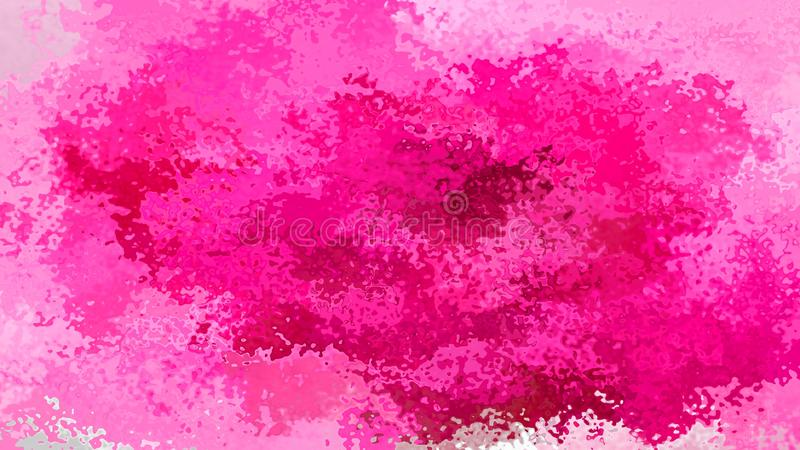 提取被弄脏的样式长方形背景流行粉红玫瑰洋红色伯根地紫红色的颜色-现代绘画艺术- waterco 库存例证