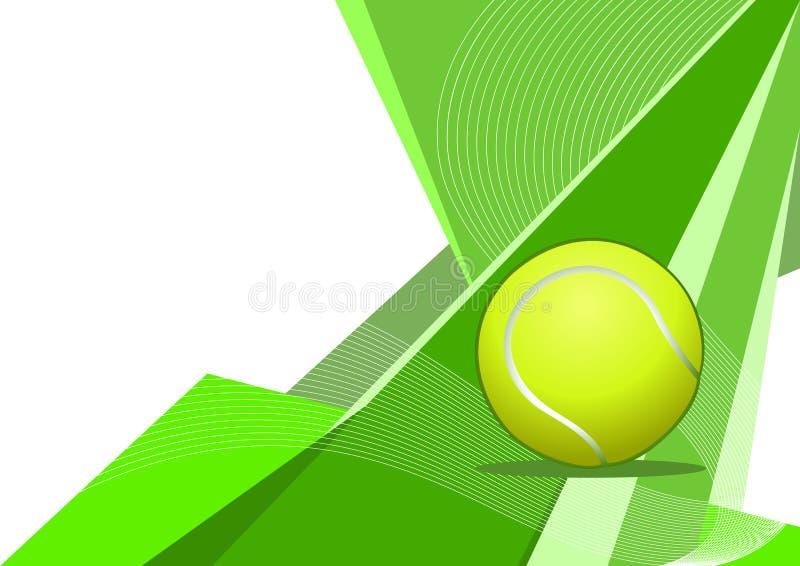 提取设计网球 皇族释放例证