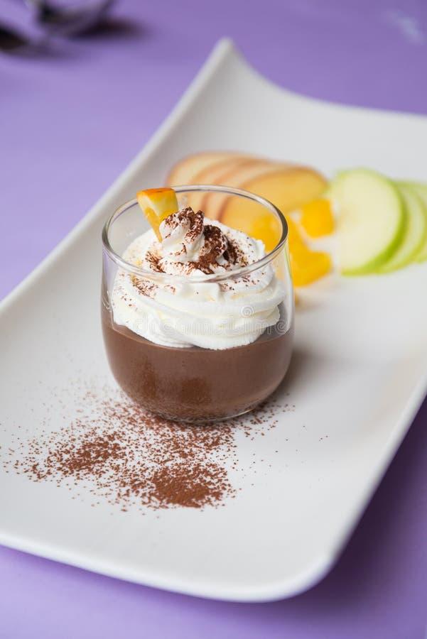 提拉米苏巧克力 免版税库存照片
