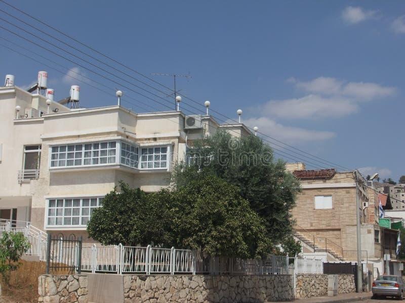提比里亚的郊区 库存图片