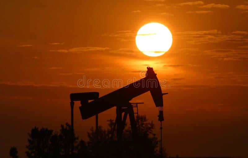 插孔油泵 免版税图库摄影