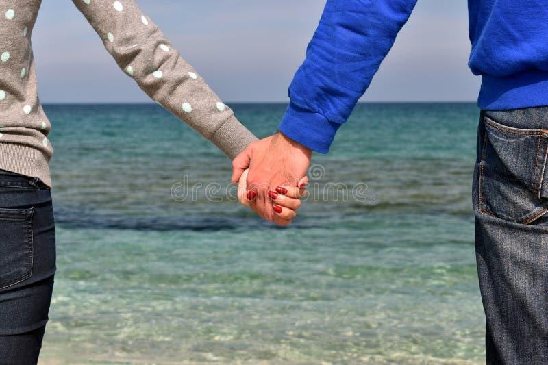 握手的人们 库存图片