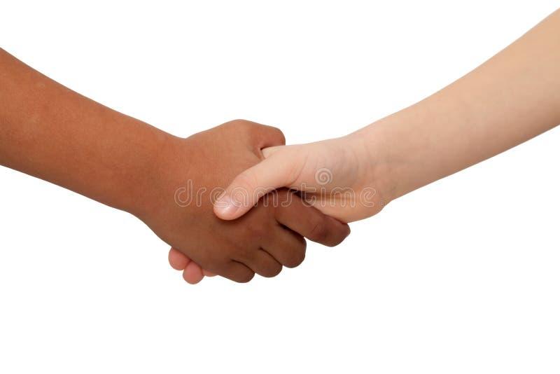 握手 免版税库存照片