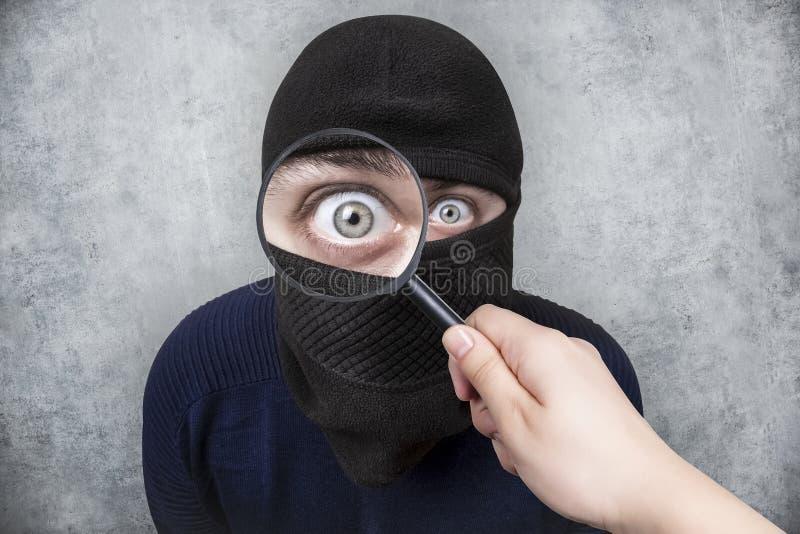 搜寻窃贼 库存图片