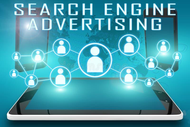搜索引擎广告 向量例证