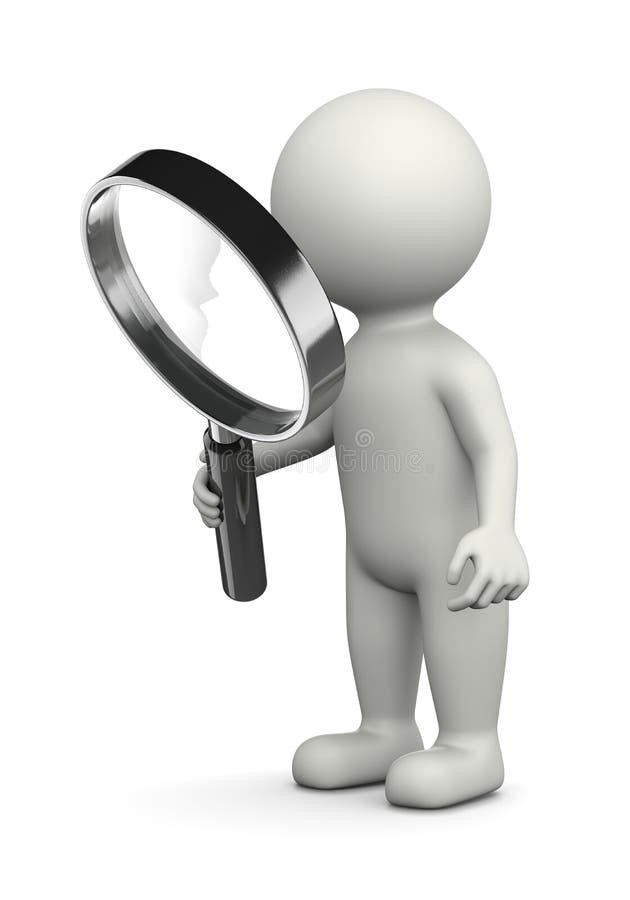 搜寻概念 向量例证