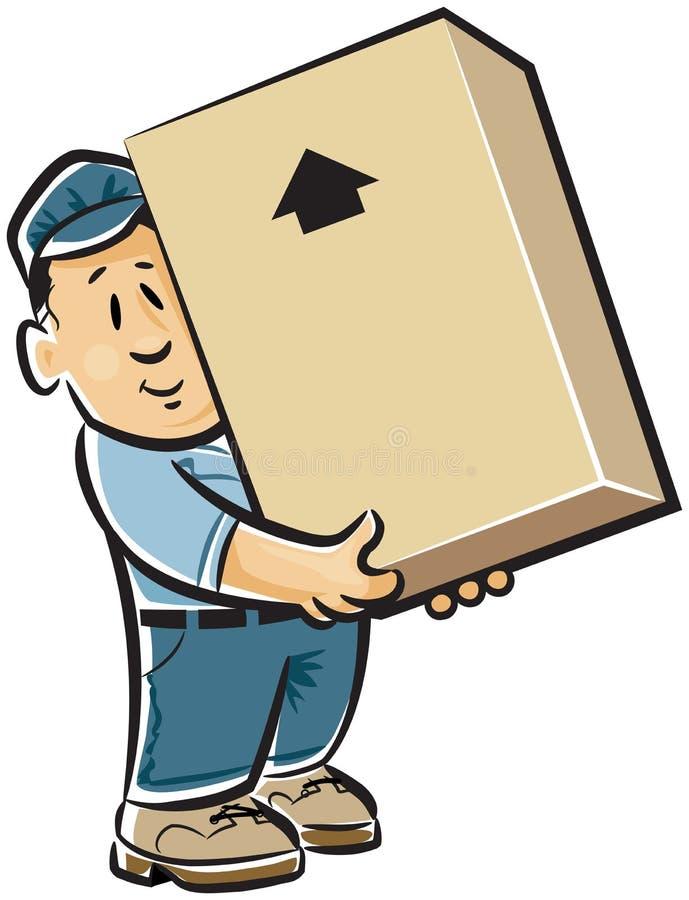 搬家工人专业人员 库存例证