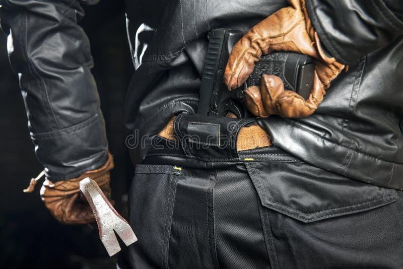 携带武器 库存照片