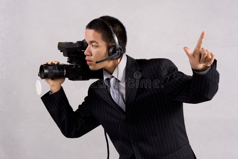 摄影师一作为 免版税库存图片