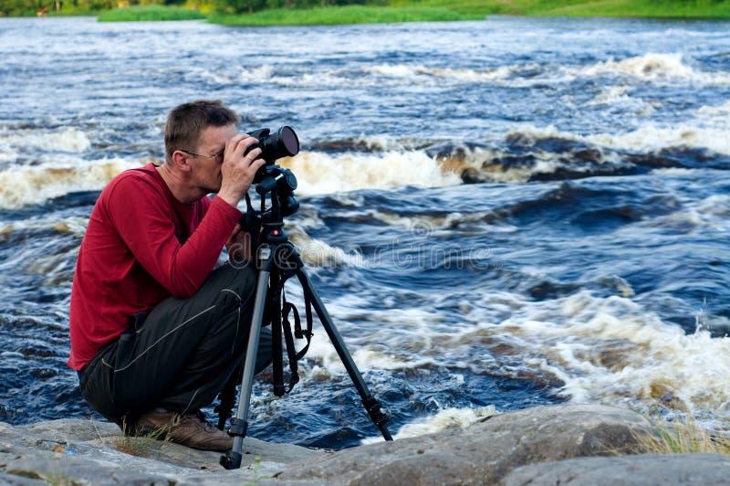 摄影师专业人员 库存图片