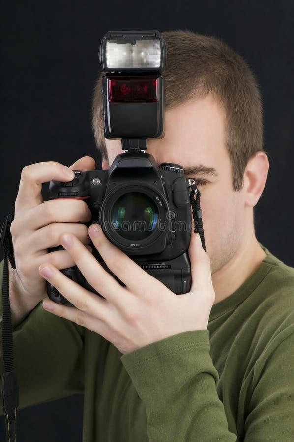 摄影师专业人员 免版税库存图片