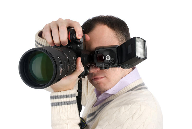 摄影师专业人员 库存照片