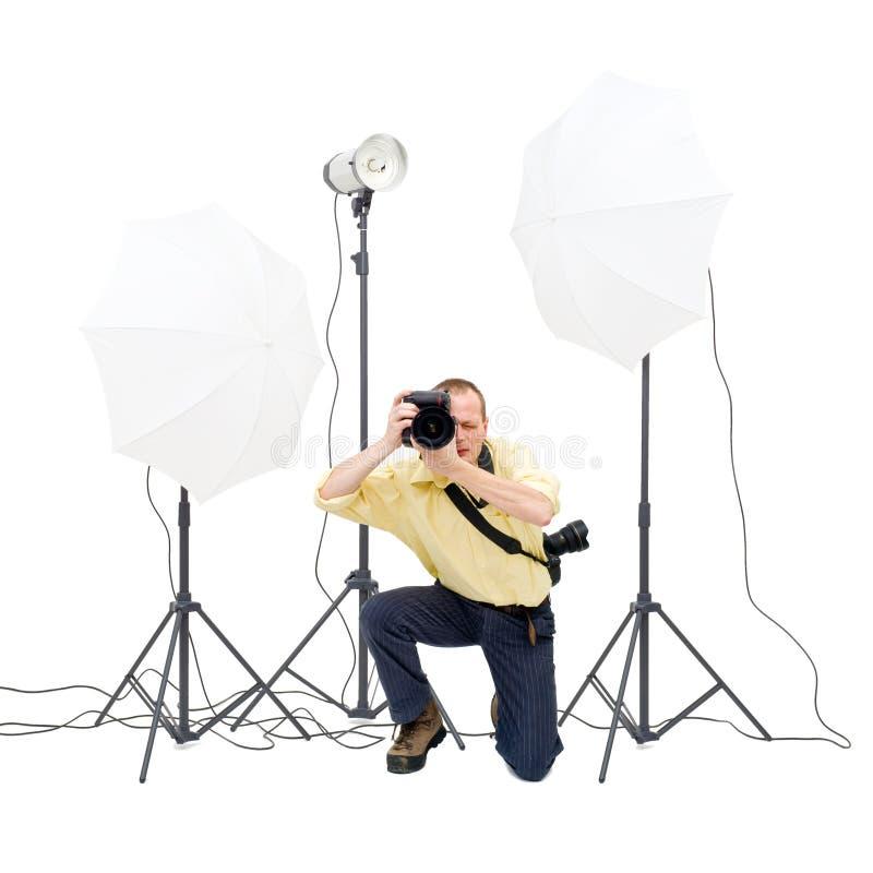 摄影师工作室 图库摄影