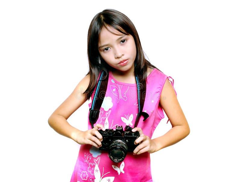 摄影师年轻人 免版税库存图片