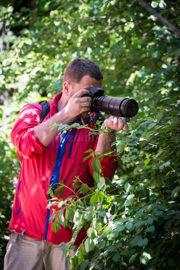 摄影师无固定职业的摄影师 库存图片