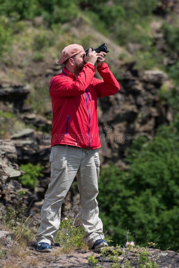 摄影师无固定职业的摄影师 库存照片