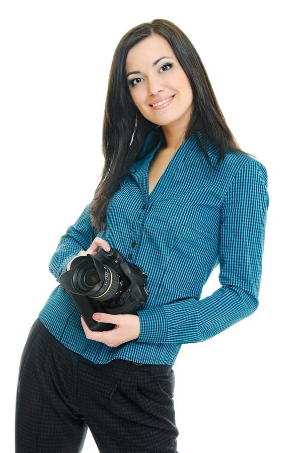 摄影师针 免版税库存照片