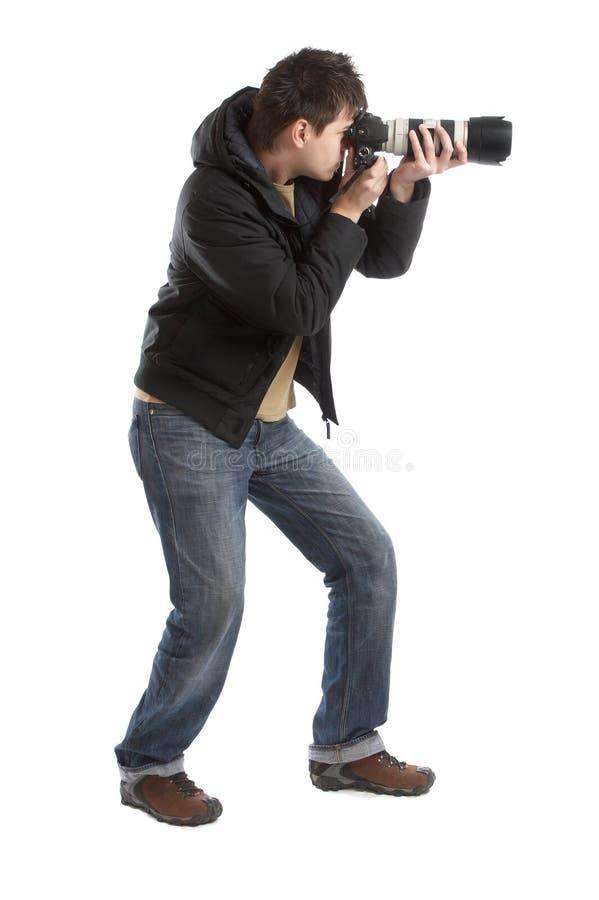 摄影师 免版税库存照片