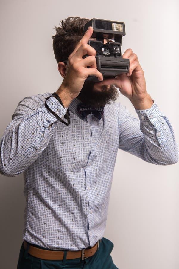 摄影师 免版税图库摄影