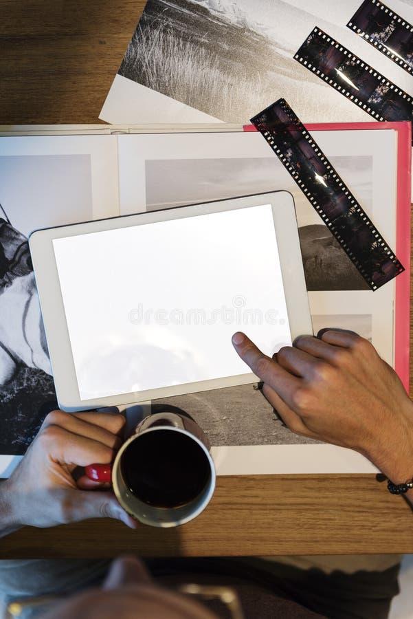 摄影想法创造性的职业设计演播室概念 库存照片