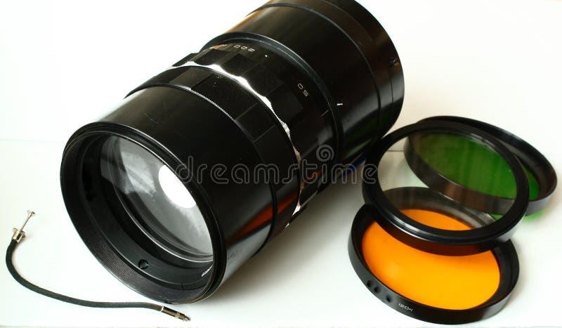 摄影的透镜 免版税库存图片