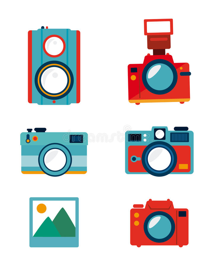 摄影设计 库存例证
