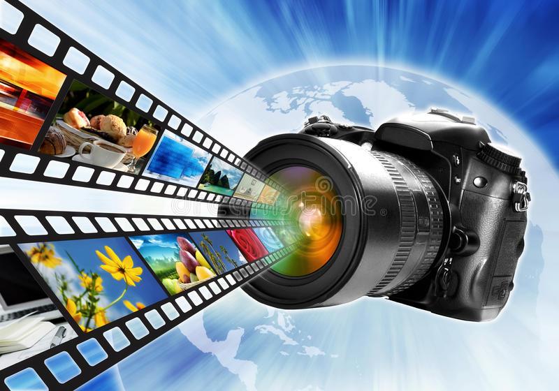摄影Concept02 向量例证