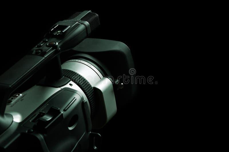 摄象机专业人员 免版税图库摄影