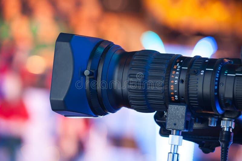 摄象机透镜 免版税图库摄影