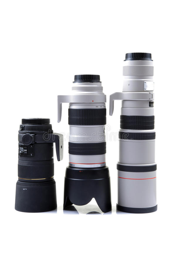 摄象机镜头专业人员 免版税图库摄影