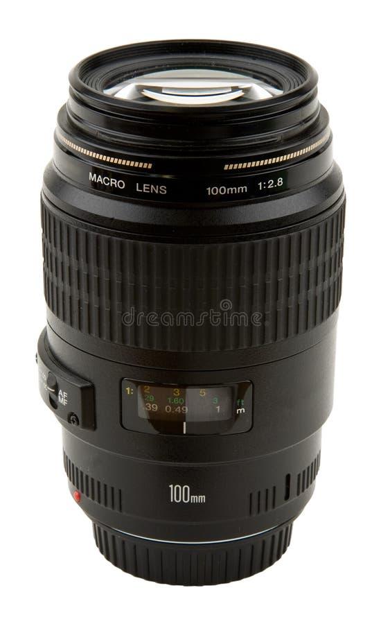 摄象机镜头宏指令 免版税库存照片