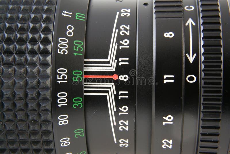 摄象机镜头宏指令 免版税图库摄影