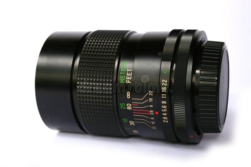 摄象机镜头端 免版税库存图片
