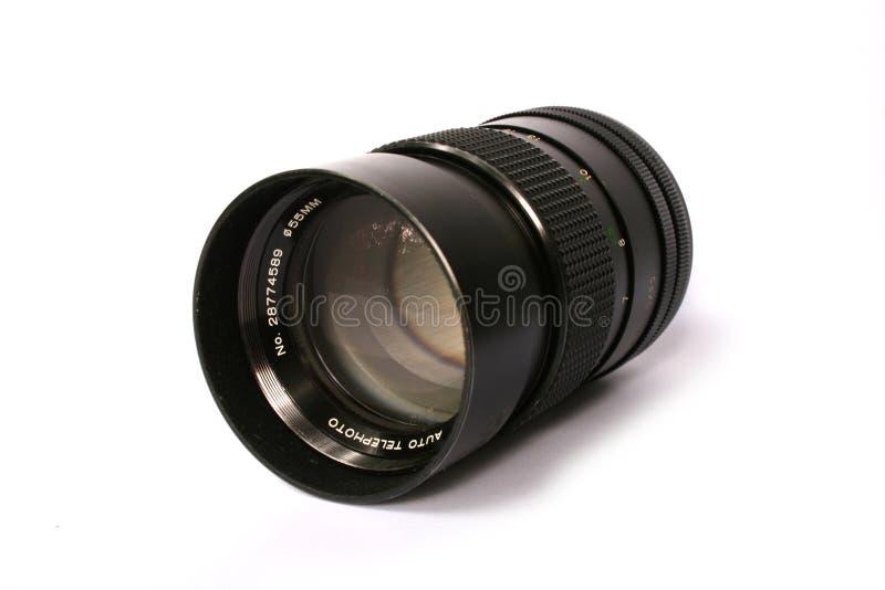 摄象机镜头-前面 免版税库存照片