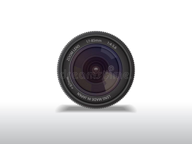 摄象机镜头 向量例证
