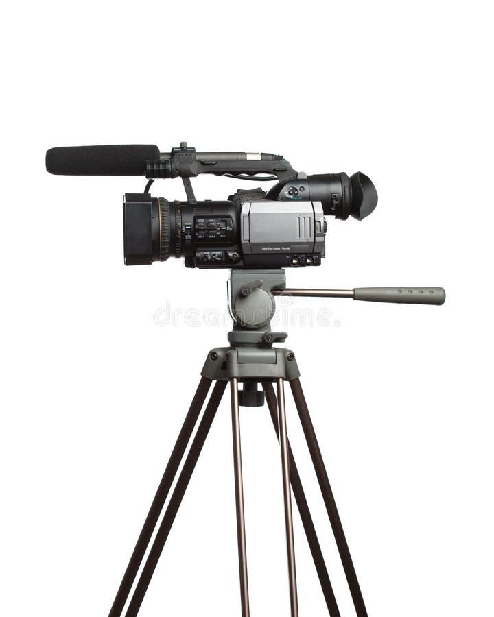 摄象机hd 免版税图库摄影