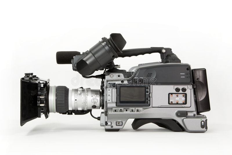 摄象机hd 免版税库存图片