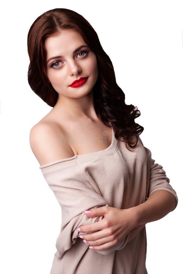 Download 摆在演播室的可爱的女孩 库存照片. 图片 包括有 brunhilda, 健身, 投反对票, 夫人, 表面 - 72361338