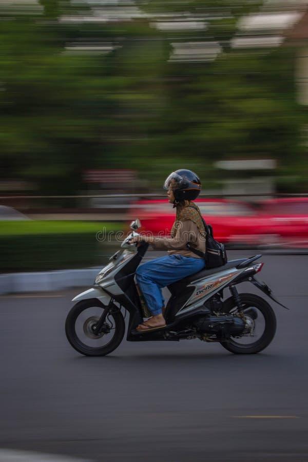 摇摄摄影三宝垄印度尼西亚中爪哇省 图库摄影