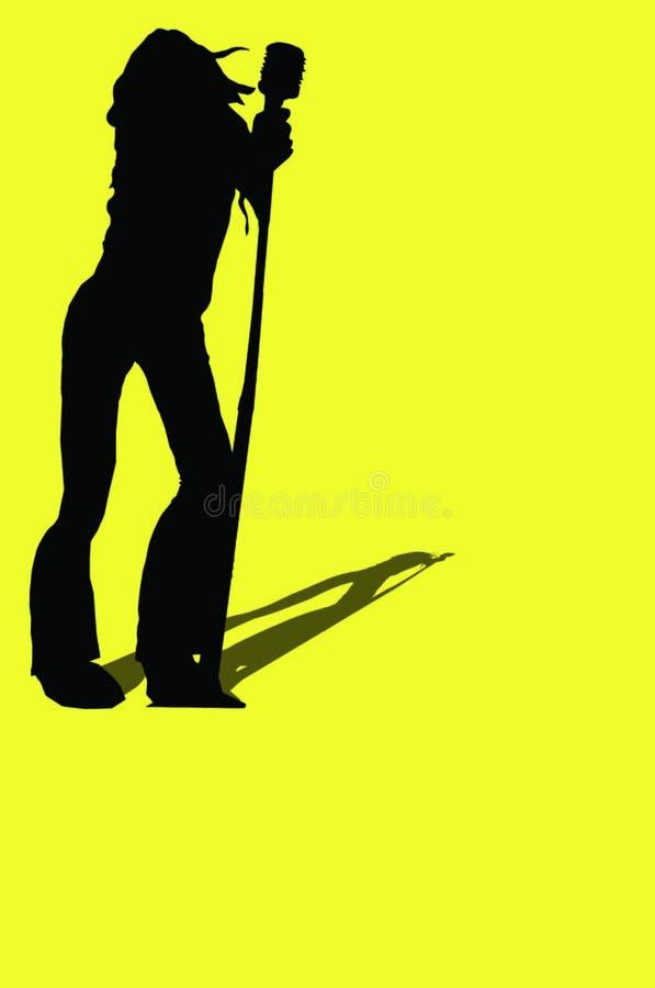 Download 摇摆物妇女 库存例证. 插画 包括有 话筒, 音乐, 摇摆物, 岩石, 影子, 艺术, 妇女, 唱歌, 流行音乐 - 187421