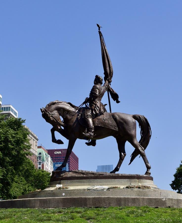 摇石将军纪念碑 免版税库存照片