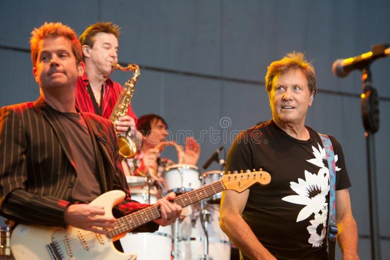 摇滚乐队芝加哥 免版税库存图片