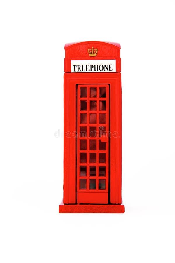 摊查出伦敦电话 免版税图库摄影