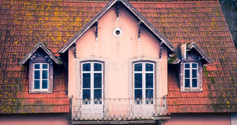 摒弃房子sintra 免版税库存图片